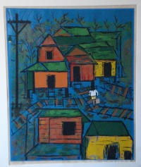 """""""Casas en la Mangle,"""" Manuel Hernandez Acevedo (PR)"""