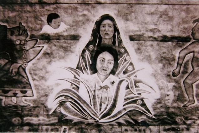 """""""Mi Madre Frances,"""" Santa Barraza (TX), 1994"""